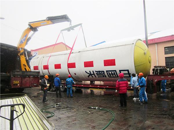 上海航天博物馆大型运载火箭搬迁工程