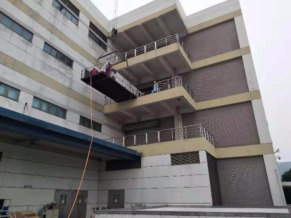 电子科技公司无尘室设备搬运吊装