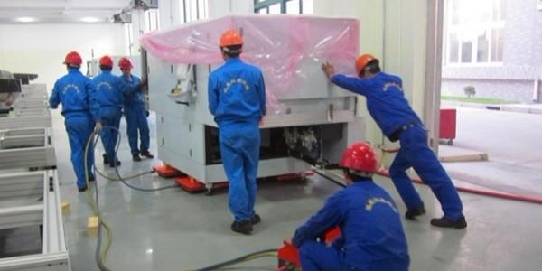 上海设备搬运怎样才能提高搬运的效率