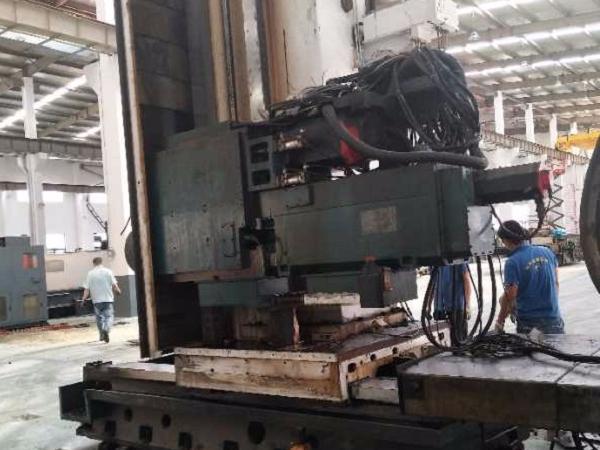 龙门加工中心设备搬运安装