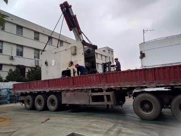 上海屹星解读:冲床类设备吊装搬运