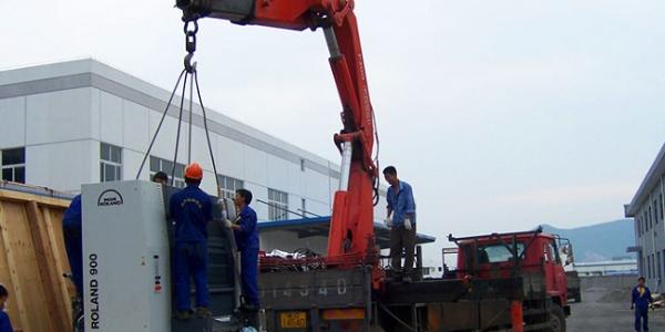 大型设备装卸的流程以及注意事项。
